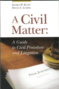 A Civil Matter - Inman & Stadler - An Association of Attorneys